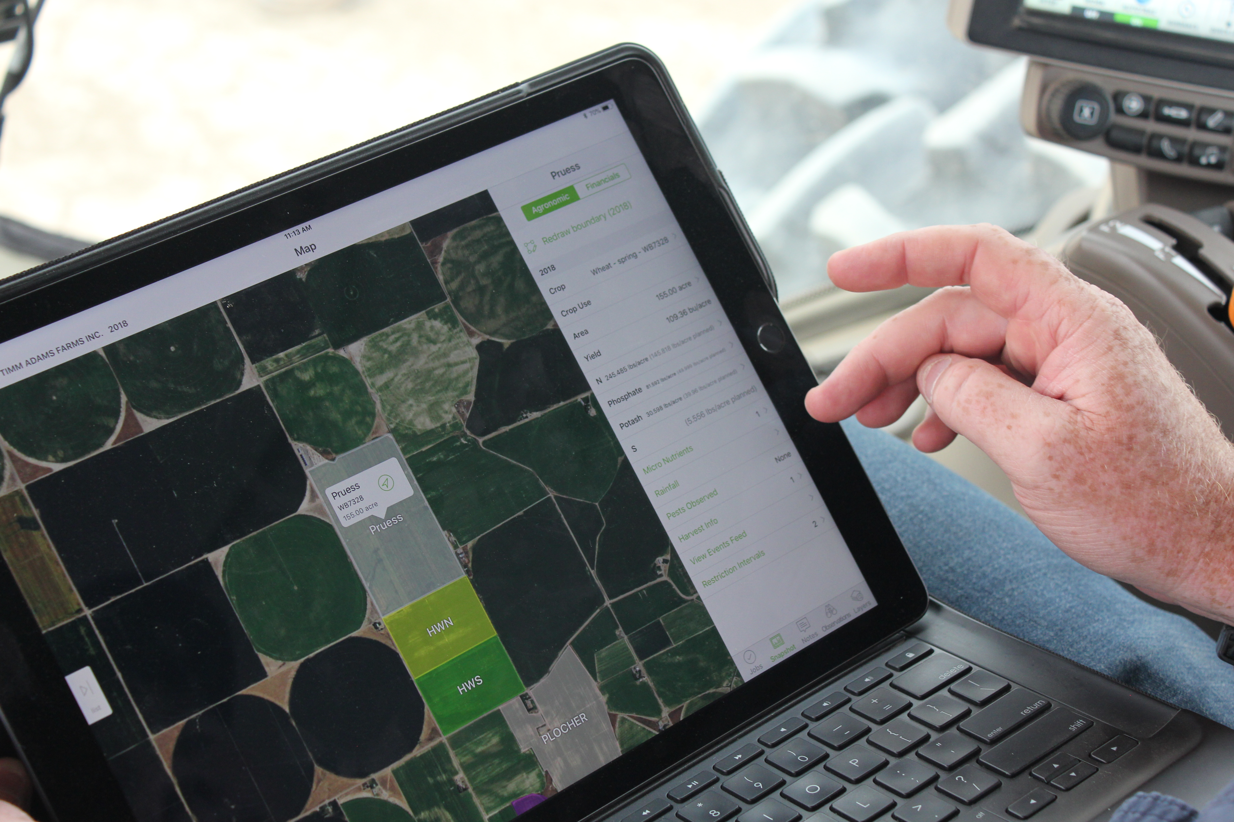 Agworld is transparent about their Ag data.